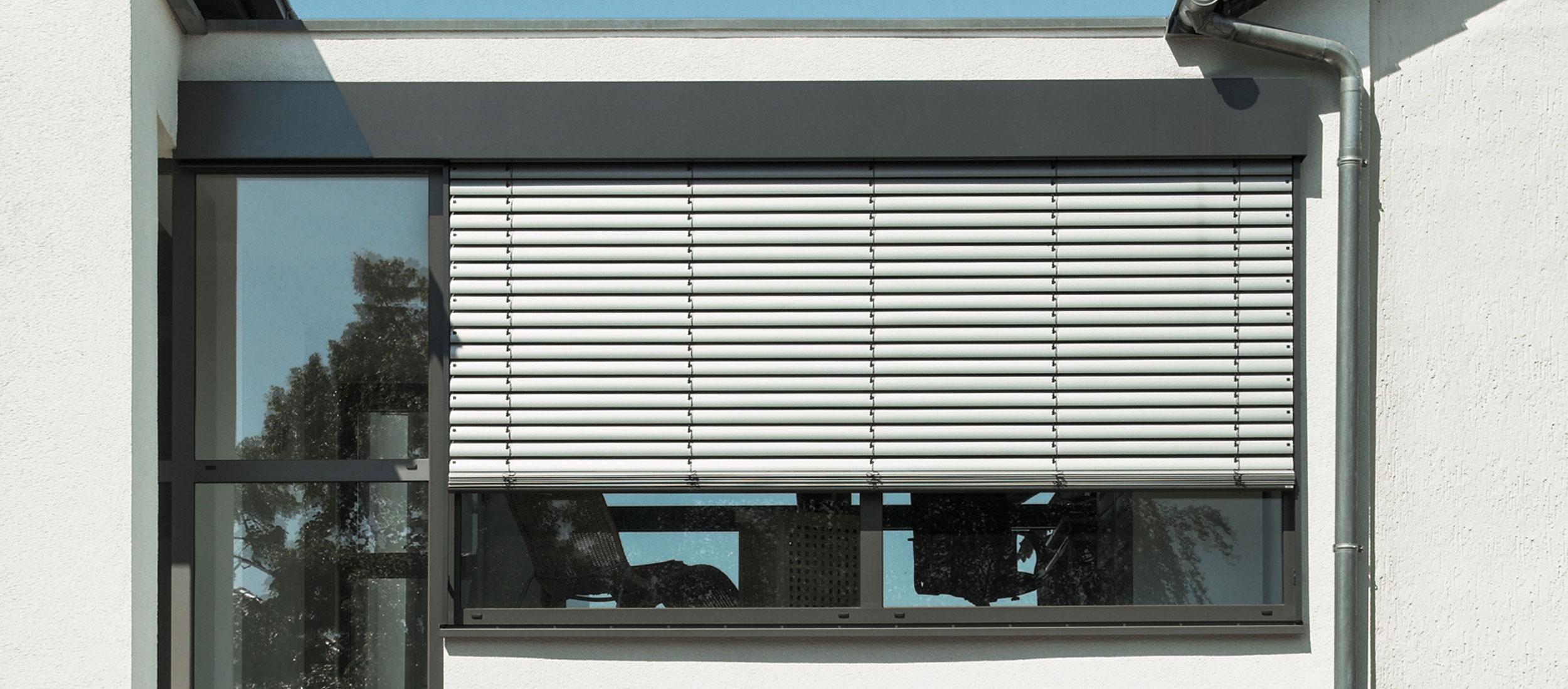 Sichtschutz  Raffstore Banner
